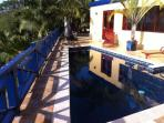 Private pool overlooks Cane Bay