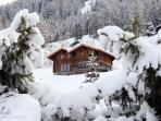 Chalet Altitude 1600 Ski-in-out, Hammam, Spa, Piano, BBQ