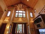 Massive vaulted ceilings!
