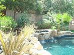 Beautiful pool and jacuzzi outside your door