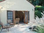 french doors opening to pool area