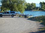 yellowstone river boat ramp less than one mile from bungalow