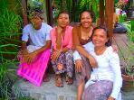 4 of 10 of our wonderful Balinese Staff.