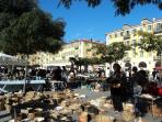 Place Garibaldi Antique market and Street of antique dealers leading to harbor. At 2 minutes walk