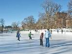Winter fun on the Boston Common, just a few blocks from Condo!