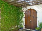Entrance into back garden.