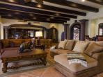 Plush living room seating