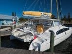Marina across the street has a lot to offer: sunset charters, fishing, tours