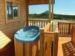 Your 2-Person Hot Tub Right Outside Your Door