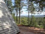 View of National Forest from the Deck