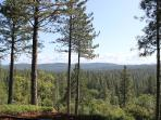View Over Tahoe National Forest from the Lodge