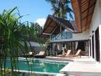 Beach front luxuary villa in authentic north Bali