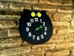 The clock-owl or the owl-clock? The  'mascotte' of the apartment