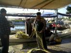 Christos the fisherman @ Nea Kio
