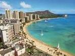 PANORAMA OF WAIKIKI BEACH