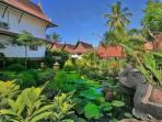 Fish Ponds & Lush Tropical Landscaped Gardens