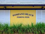 Pompano Beach Fishing Pier...