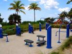 New Beachfront Workout Station...