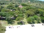 Aerial view of Villa N'Banga