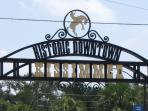 Archway entrance to downtown Kissimmee