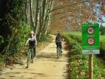 Cycle Greenways, close to the house (0.7 km)