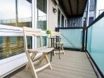 Private Patio - Enjoy the beautiful view of Queen Anne Hill