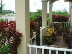 Sun villa balcony
