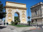 Montpellier - The triumphal arch