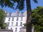 Panoramic Paris Montmartre Caulaincourt