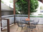 Outdoor Deck with Table & Chairs
