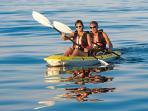 Kayak to Avoca Beach.