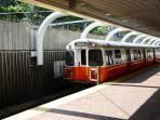Orange Line Subway, 5 minute Walk