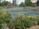 Community Tennis Court - Just across the street