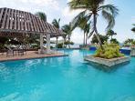 Pool at Sapphire Beach resort