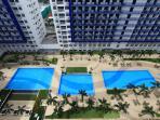resort-themed central amenity