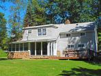 OVR's Cedar Lodge! Warm, inviting on Stony Fork Creek! Hot Tub! Large yard!
