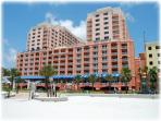 Hyatt Regency is just paces away from the white sands of Clearwater Beach