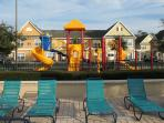 4 Playgrounds - one by each pool includes Cabana with restrooms and covered patio