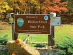 Minutes from the House.  You can enjoy the great walking trails along the Lake!