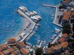 Bol harbour panorama