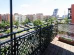 Nice views from the apartment.