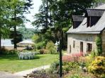 Farm house with lake veiw