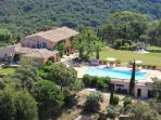La Croix Tropez Holiday Home with a Fireplace, Pool, and Garden