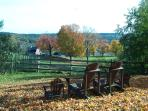 Overlooking our Farm on a Peaceful Fall Afternoon