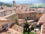 The roofs of Fayence