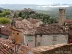 View from the bell tower in Fayence
