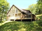 Two stories of comfort-15 Acres of Privacy.  No wonder the eagle landed here!