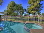 2 Bedroom Home with private pool on the golf course