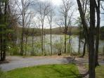Lake View from Front Porch - Spring