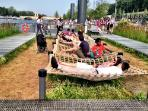 Cross the street to Les Berges de Seine: fun and relaxation for all